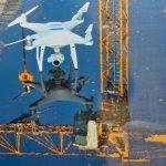 Suivi de chantier par drone, prises de vue par drone
