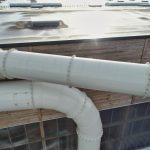 Inspections par drone de l'étanchéité et du système d'évacuation des poussières et de renouvellement de l'air, d'une usine de découpe de bois. Le jour se lève en Vendée pour débuter cette inspection d'usine.