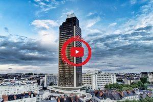 Nantes vue du ciel. Une vidéo, une balade, un voyage autour de Nantes, entre ciel et Loire, entre Art et Street-Art.